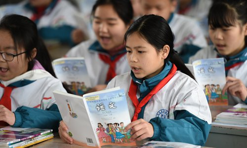 Overseas textbooks banned in Chinese primary and junior high schools: MOE