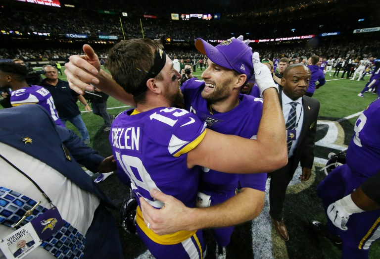 Vikings upset Saints, Seahawks oust Eagles in NFL playoffs