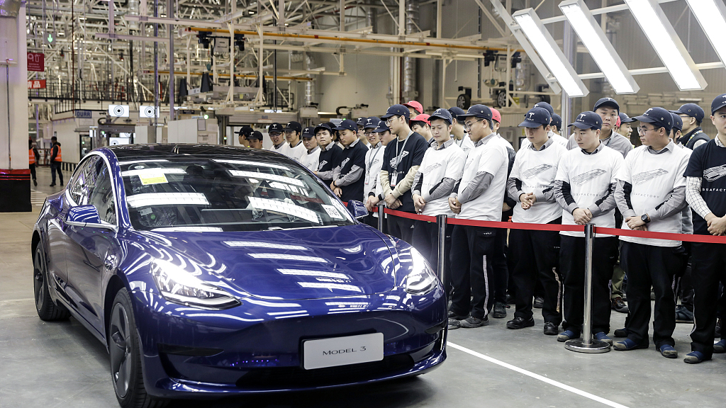 Tesla's Model 3 price cut boosts its Chinese suppliers