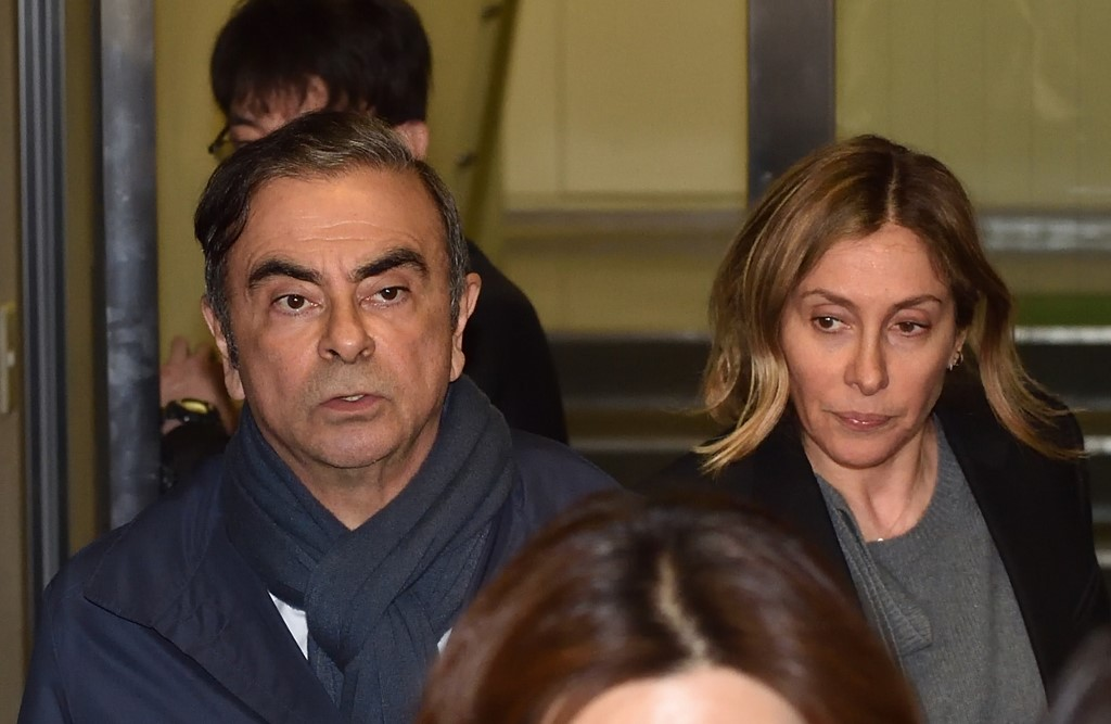 Arrest warrant issued in Japan for Carlos Ghosn's wife