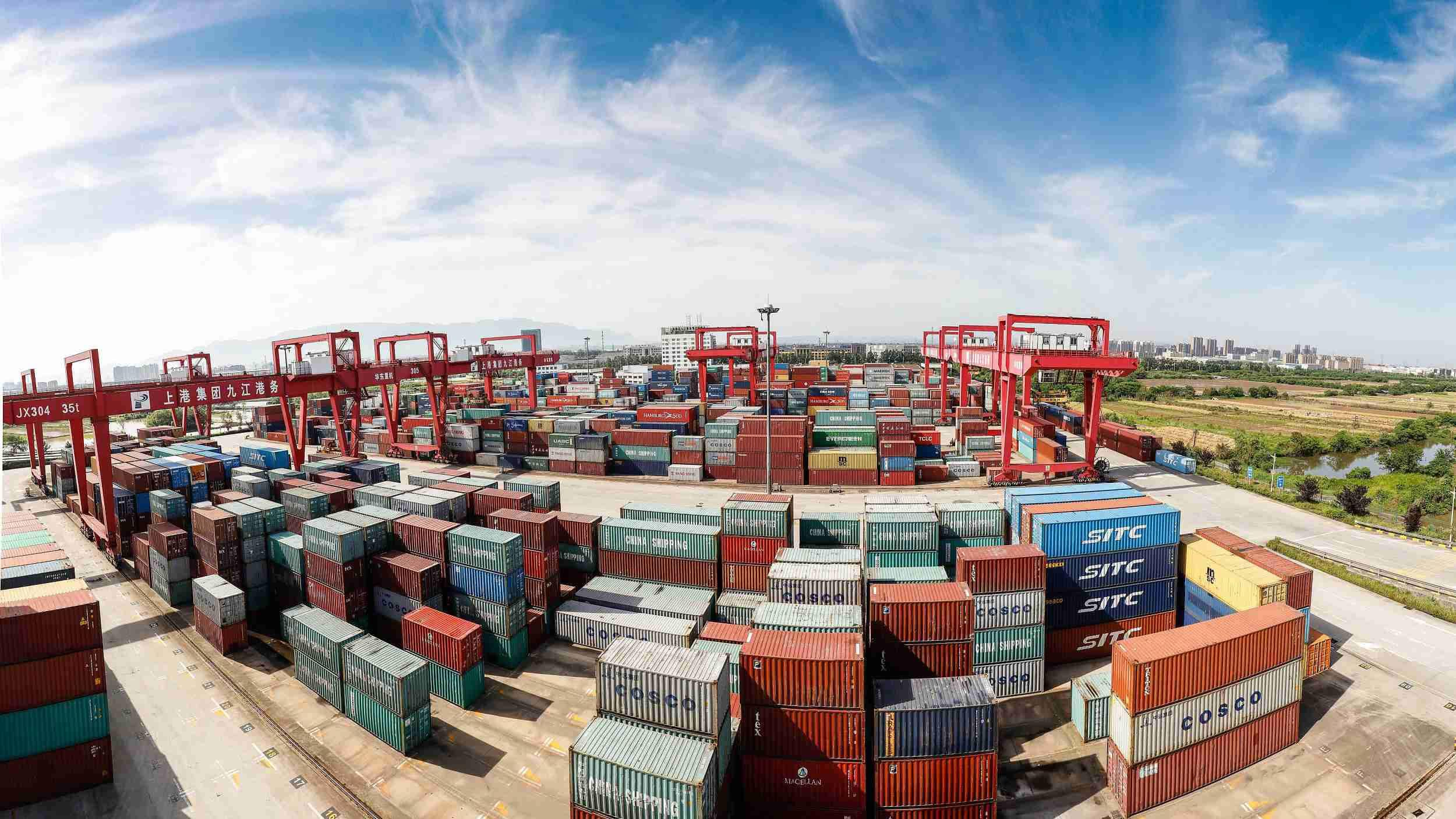 China's Pearl River freight volume sets record