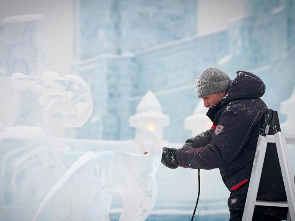 34th Harbin Int'l Ice Sculpture Competition