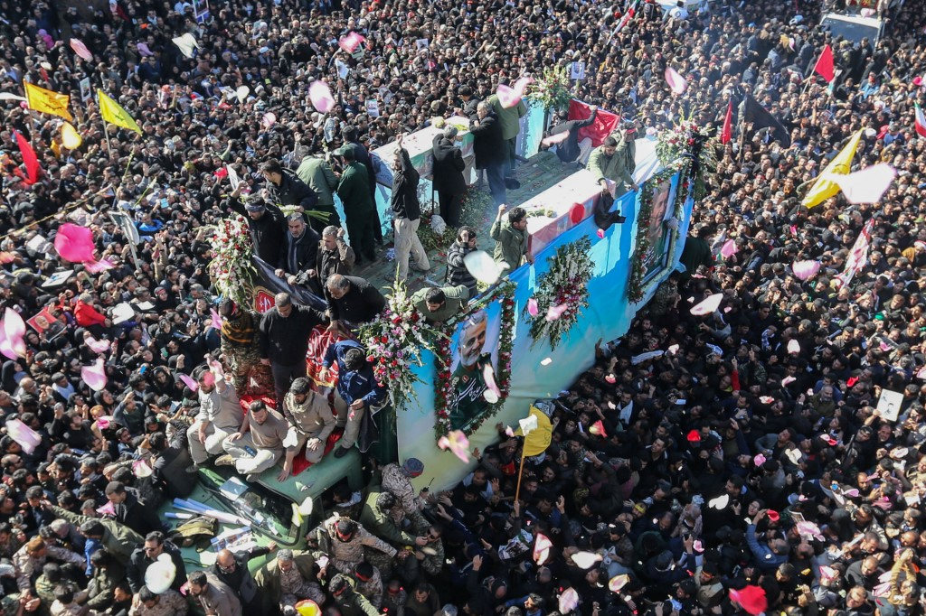 Death toll of stampede at Soleimani's funeral rises to 50