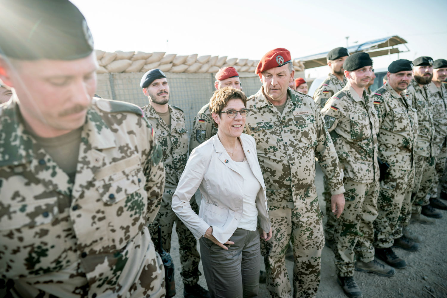 Germany withdraws some troops from Iraq as tensions soar