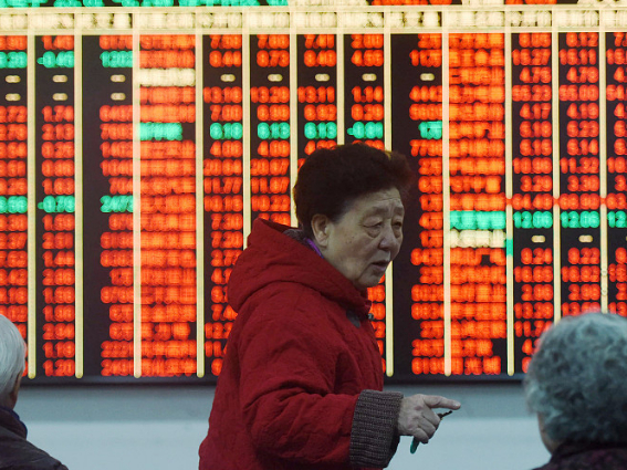 Equities buck the global trend on mainland