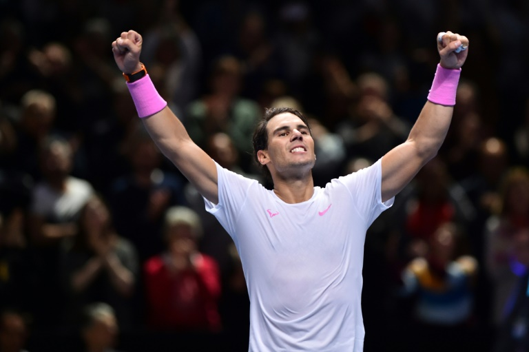 Nadal insists Federer Slam record not on his mind