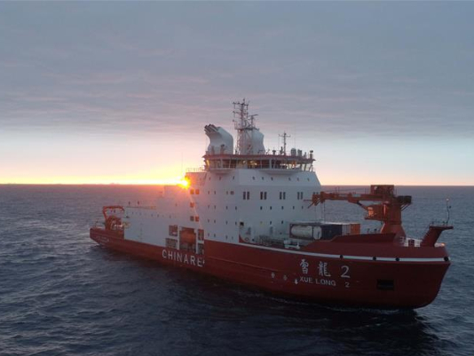 China's 36th Antarctic expedition team completes data collection in Cosmonauts Sea