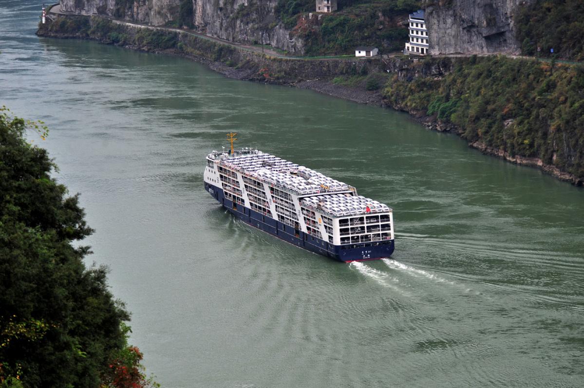 Govt targets intrusions of Yangtze shorelines