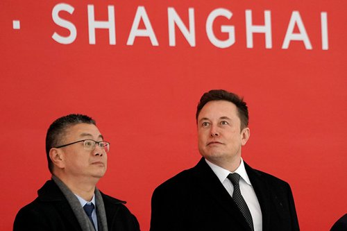 Tesla's efficiency underlines China's appeal for foreign firms