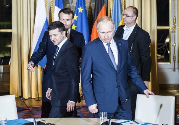 Putin expresses condolences to Ukrainian leader over plane crash