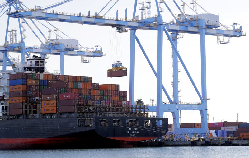 US trade deficit falls 8.2 pct to $43.1 billion in November