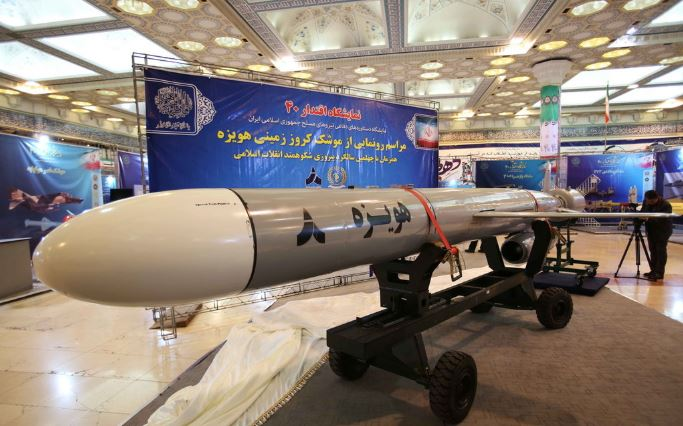 US defense secretary says Iran launched 16 missiles from 3 locations