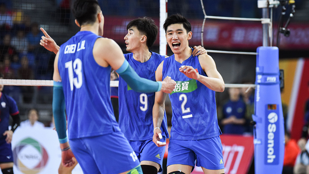 China men's volleyball team enter AVC men's Olympic qualification semis