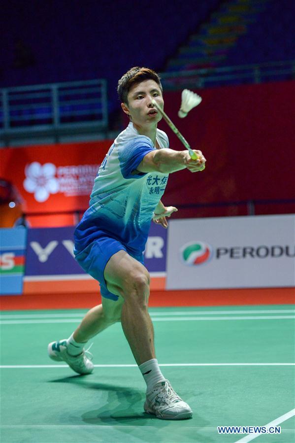 Men's singles 2nd round match at Malaysia Masters 2020 : Shi Yuqi vs. Lu Guangzu