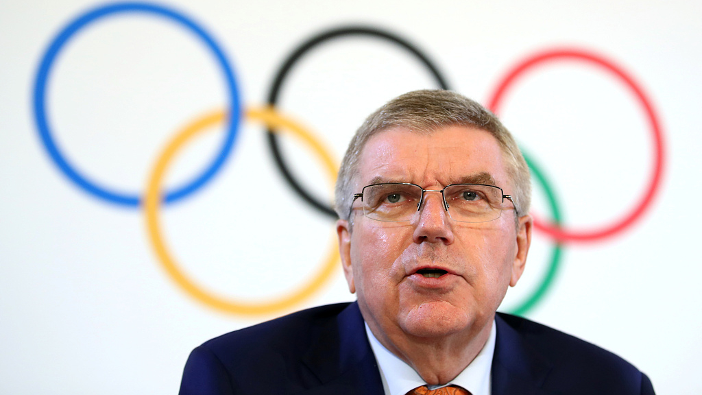 Bach 'saddened' by rehearsal accident at Winter Youth Olympics
