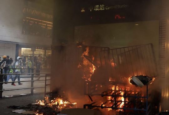 Hong Kong sees more crimes in 2019 due to violent protests