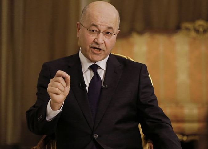 Iraqi president condemns Iranian strikes on military bases in Iraq
