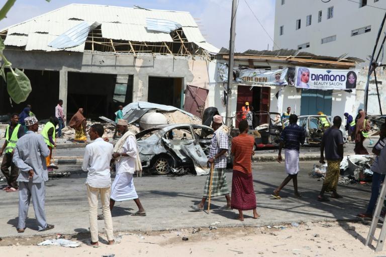 Four killed in car bombing near Somalia parliament