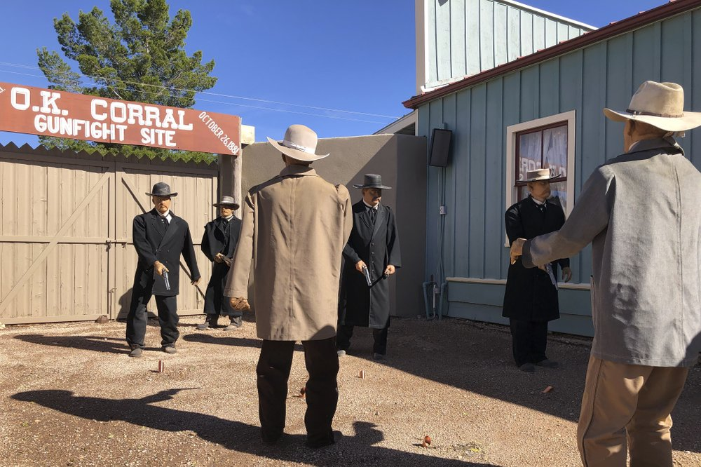 'Looks like a movie!' Traveling back in time to Tombstone