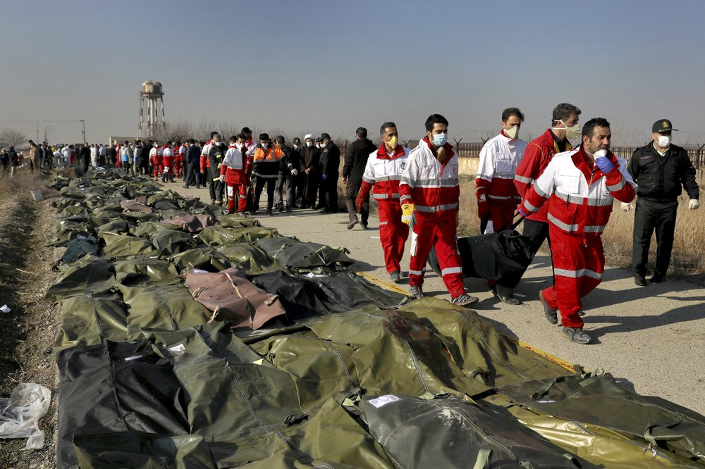 Iran investigators say Ukrainian plane never called for help