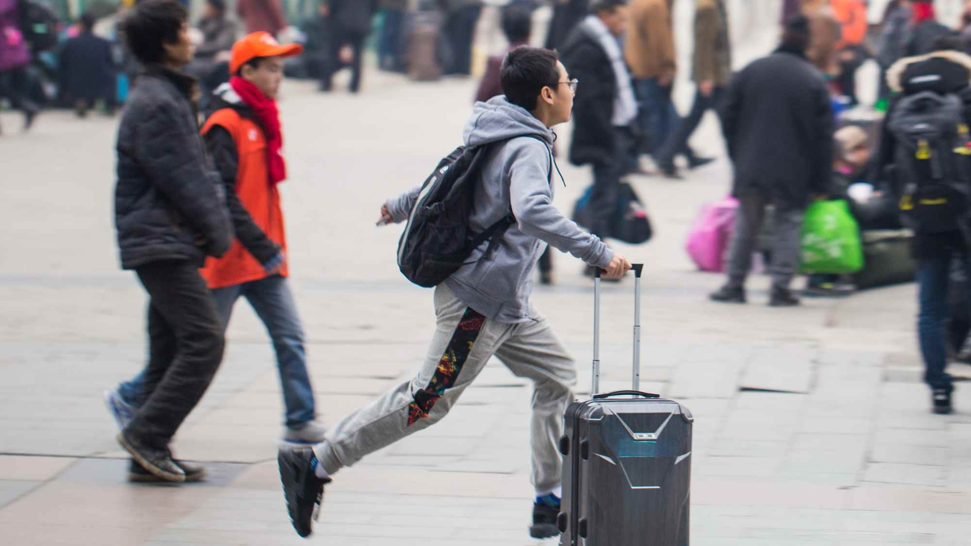 China: 3 billion on the move for Spring Festival