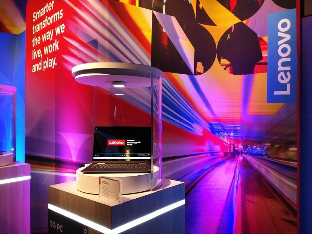 Lenovo launches world's first 5G PC at CES