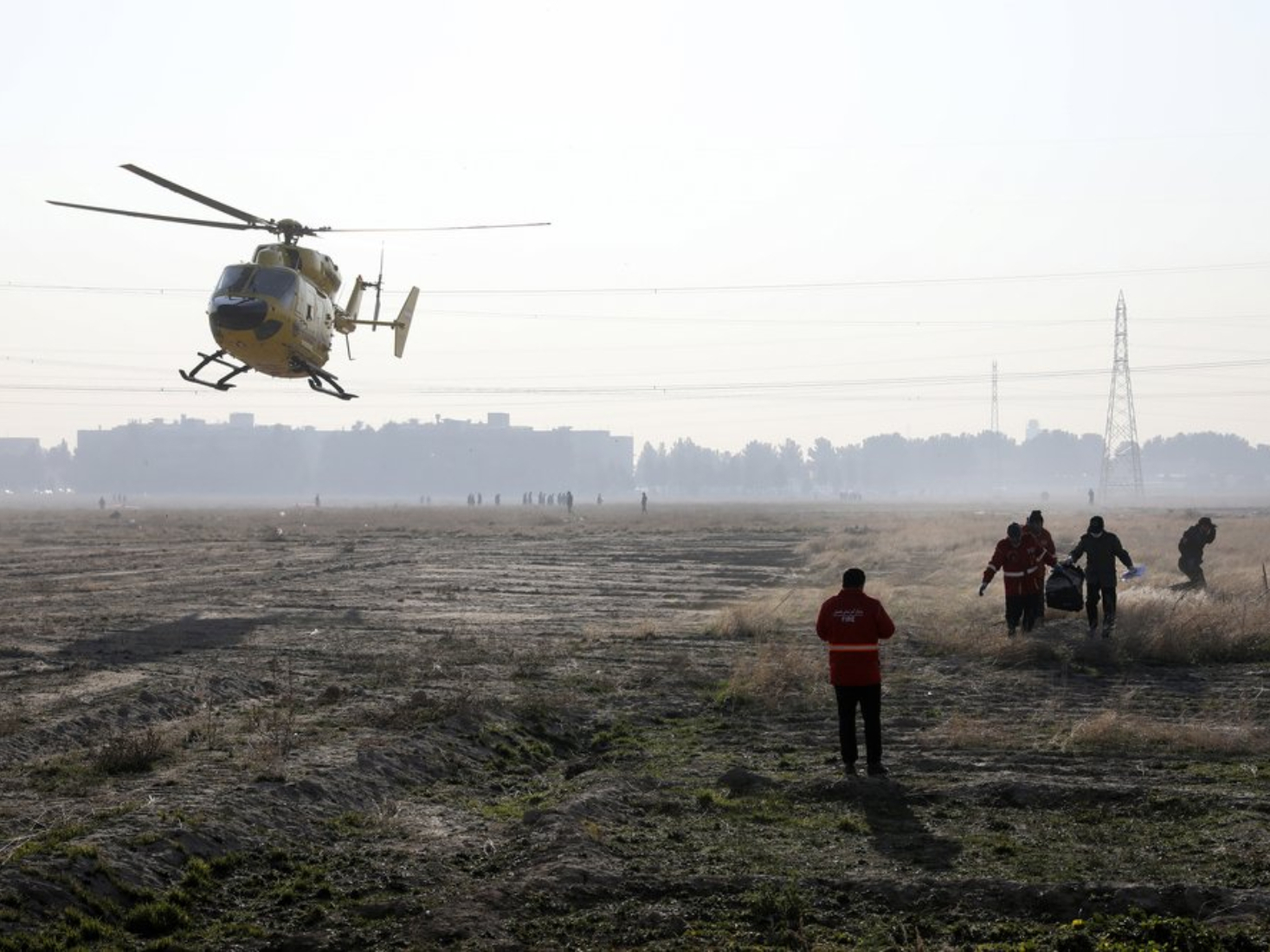 Iran urges all parties involved to probe Ukrainian airliner crash