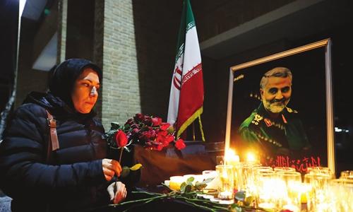 Iran, US embassies engage in word war