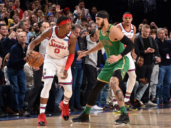 NBA highlights on Jan. 9: Without Embiid, 76ers rally to beat Celtics