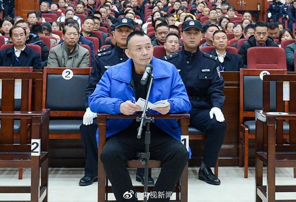 Death sentence upheld for criminal gang leader in central China murder case