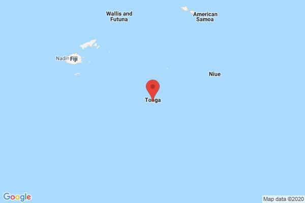 5.3-magnitude quake hits Tonga: USGS