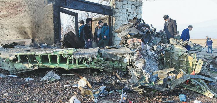 Ukrainian jet crash in Iran raises questions