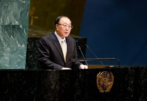 China's ambassador emphasizes principles of UN charter