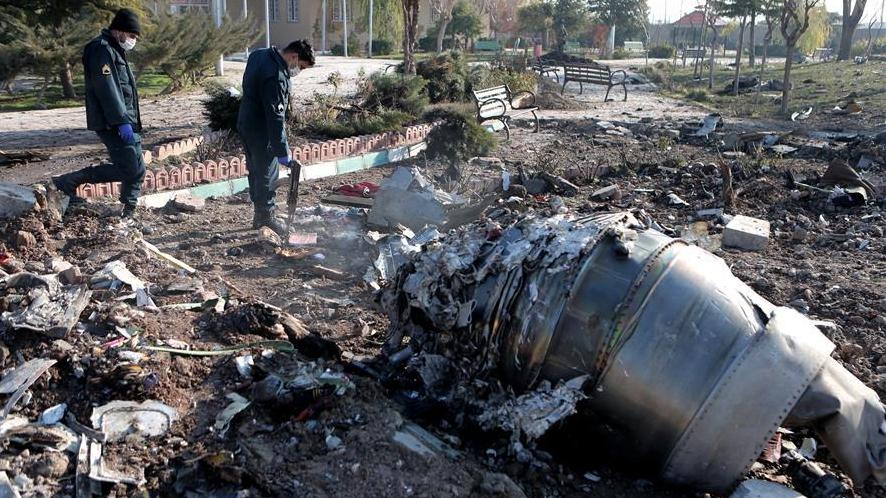 Iranian supreme leader urges probe over Ukrainian plane crash