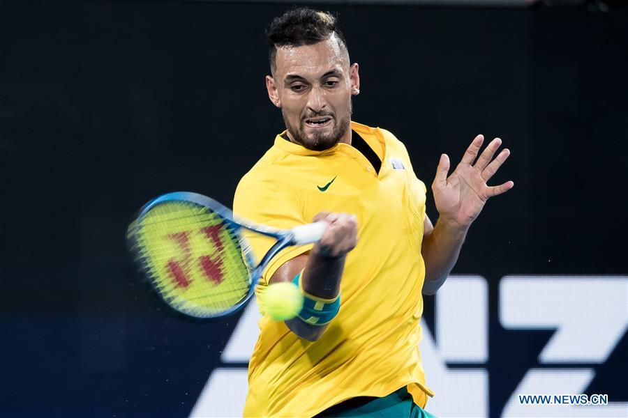 ATP Cup semifinal match: Spain vs. Australia