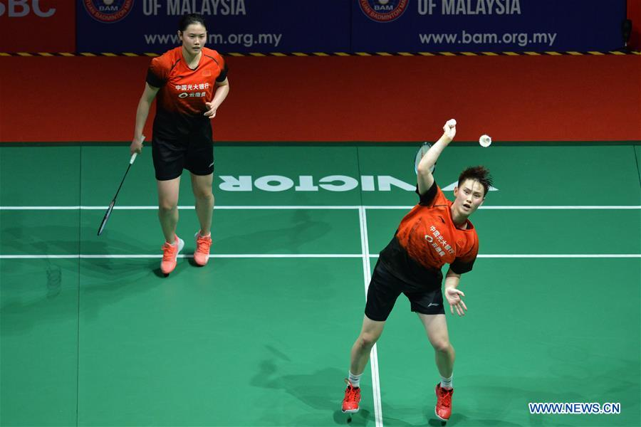 In pics: semifinal matches at Malaysia Masters 2020 badminton tournament