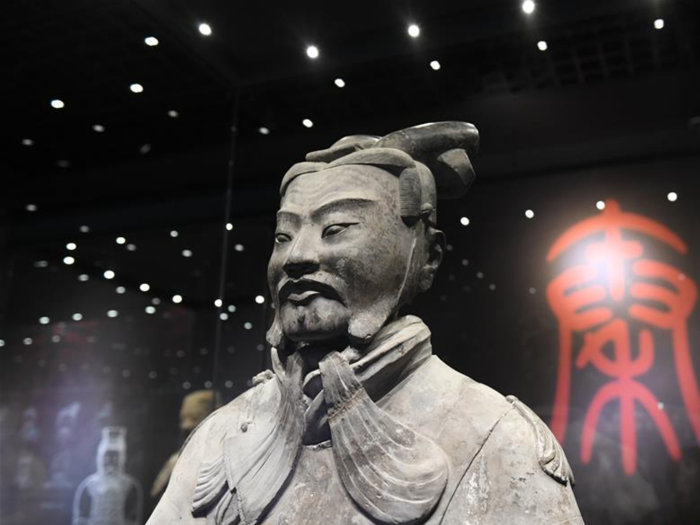 Culture and art exhibition held at Shaanxi History Museum in Xi'an