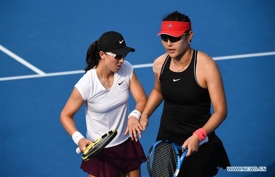 Highlights of women's doubles final at WTA Shenzhen Open