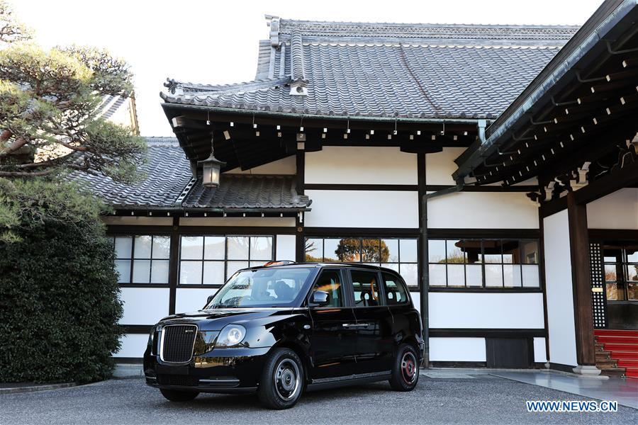 China's Geely makes inroads into Japanese electric taxi market
