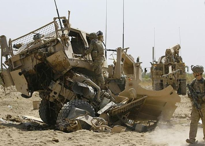 2 US soldiers killed in S. Afghanistan's explosion
