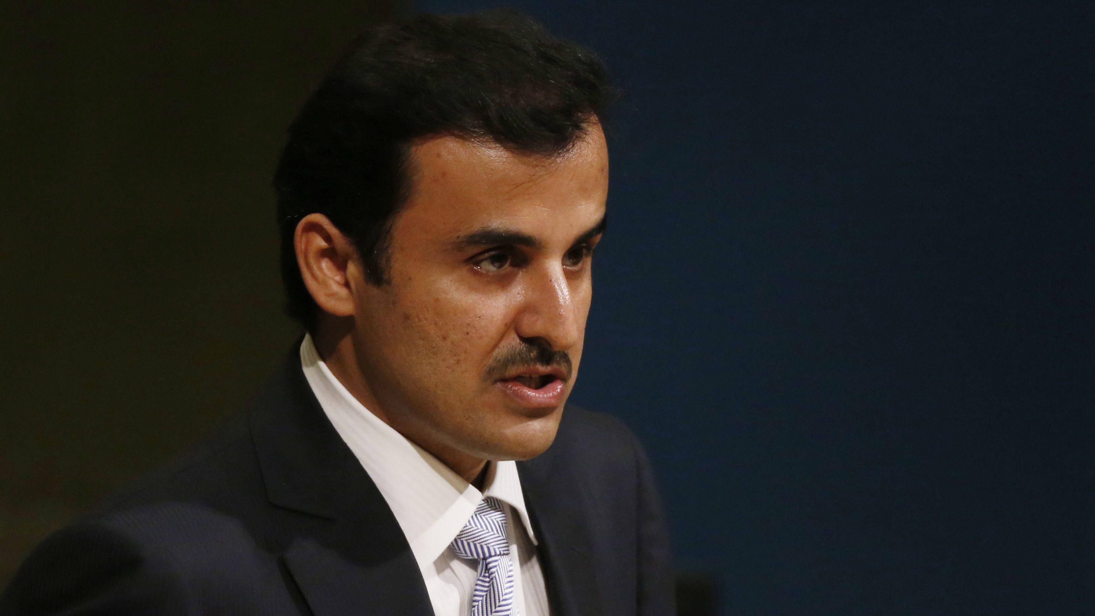 Qatari emir arrives in Tehran for talks amid US, Iran tensions