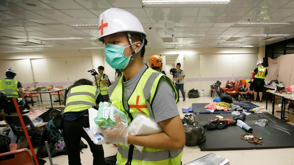 Hong Kong volunteers praised for contributions