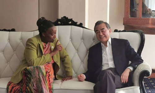 Wang Yi: China-Kenya strategic partnership gains fast development