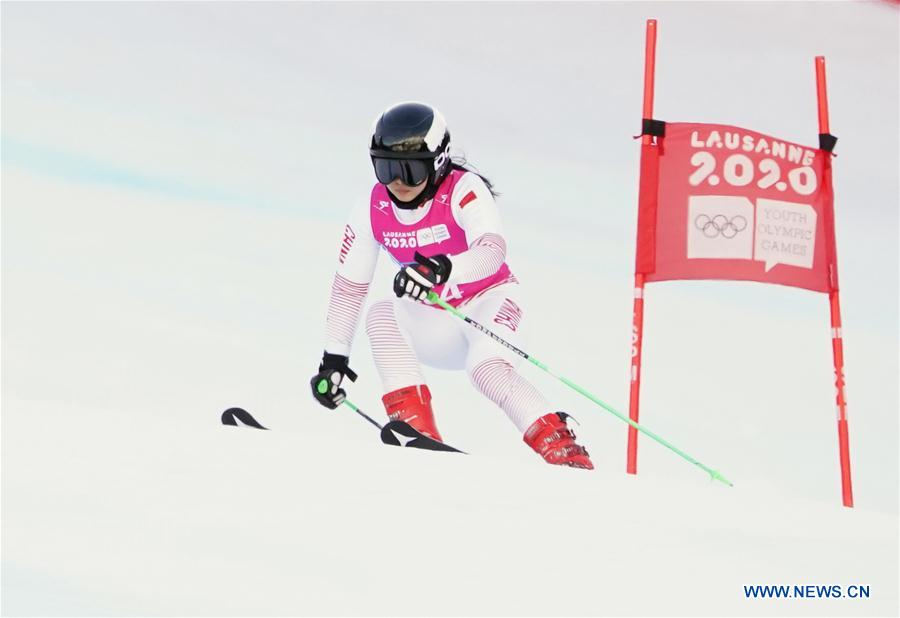 In pics: Women's Giant Slalom Run 1 of Alpine Skiing at 3rd Winter Youth Olympic Games