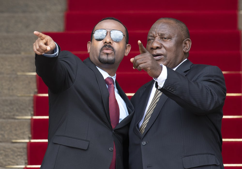 Ethiopia PM asks South Africa leader to help in dam dispute