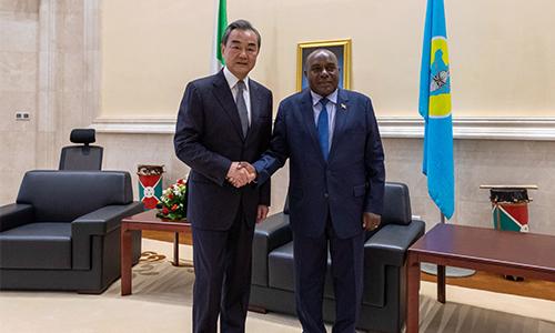 Burundi's second vice president meets Chinese FM