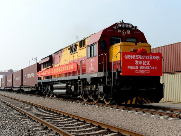 East Chinese province sends 368 China-Europe trains in 2019