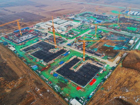 Xiongan New Area accelerating construction of major projects in new year