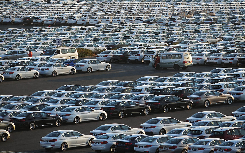 China auto sales down 8.2 pct in 2019