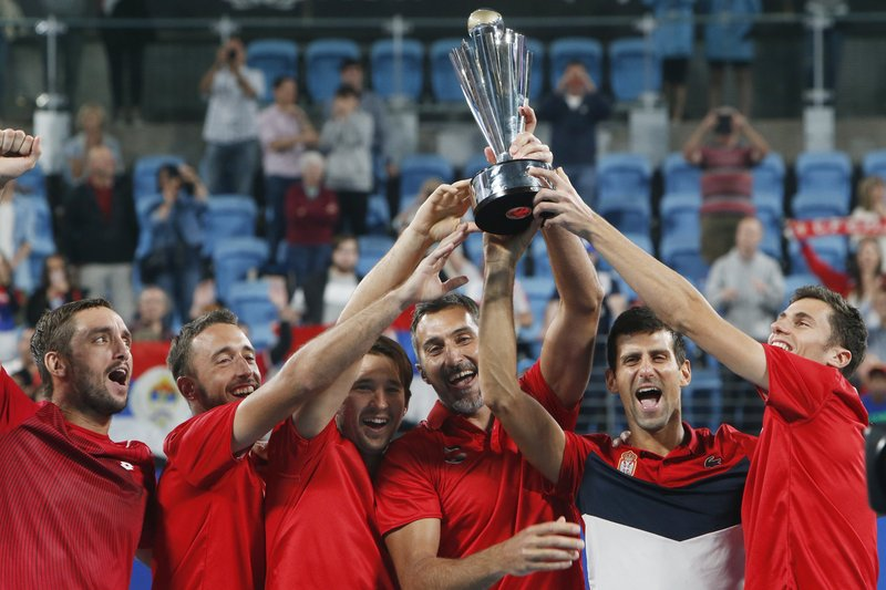 Djokovic defeats Nadal, leads Serbia to ATP Cup victory